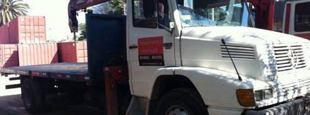 Contratación de fletes y camiones con Grúa